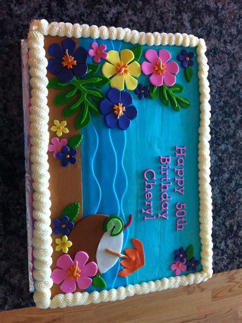 luau cake  tu tus cupcakery replica  cake