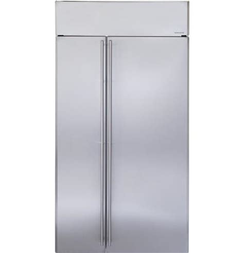 Ge Monogram 42 Quot Stainless Steel Built In Side By Side