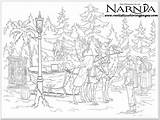 Narnia Coloring Chronicles Pages Colouring Sheet Realistic Printable Witch Peter Adult Adults War Lucy Tumnus Pevensie Mr Shock Talking sketch template
