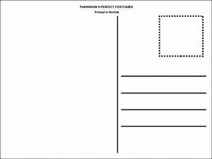postcard template With postcard template for pages