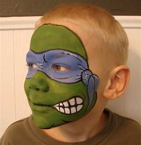 Teenage Mutant Ninja Turtle! | Face Paint Designs | Ѽ ...