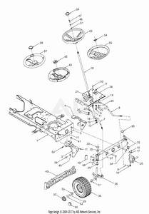 Mtd 13ap608g129  2003  Parts Diagram For Axle  Wheels