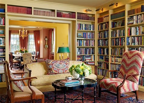 15+ Living Room Library Designs, Ideas  Design Trends