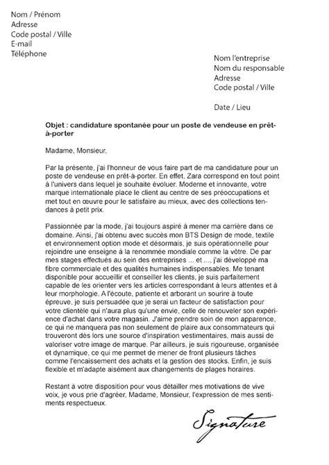 zara siege recrutement lettre de motivation zara vendeuse en prêt à porter