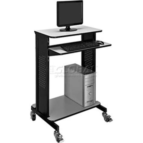 computer furniture mobile computer carts mobile stand
