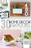 cricut home decor 30 Home Decor Projects Made with the Cricut Explore Air