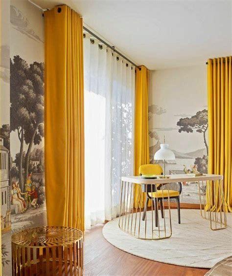 papier peint uni pour cuisine les 25 meilleures idées de la catégorie rideau moutarde sur rideau jaune moutarde