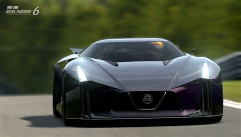 Nissan 2020 Vision Gt by Gt6 グランツーリスモ6 60fps Nissan Concept 2020 Vision Gt At