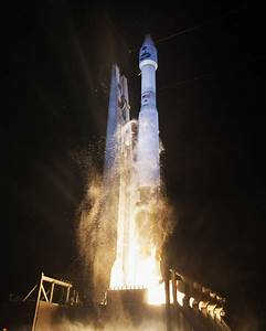 Spectacular Nighttime Blastoff Sends Critical NASA TDRS ...