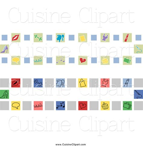 cuisine girly cuisine clipart of girly website banners by bnp design