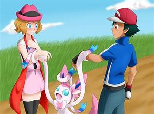 The gallery for --> Pokemon Ash And May Moments