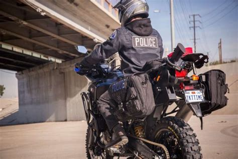 Meet The Africa Twin Police Bike Build By Roland Sands