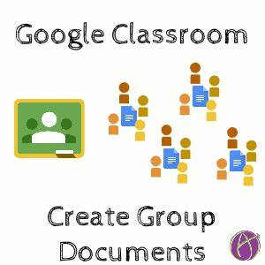 google classroom create group documents teacher tech With documents in google groups
