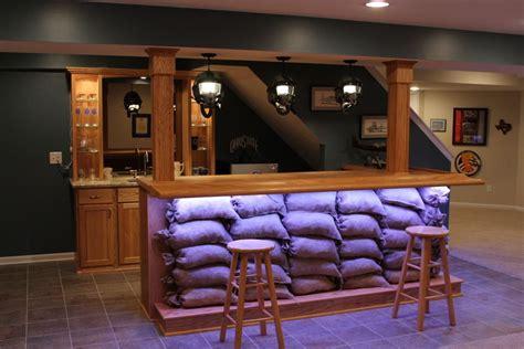 Home Built Bar by Sandbag Bar Bar Ideas In 2019 Basement Bar Plans