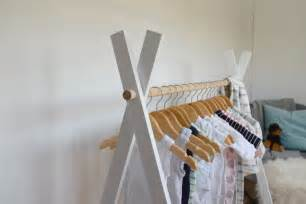 pictures of log home interiors diy teepee clothing rack