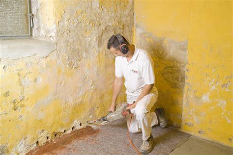 Bautrocknung Feuchte Waende Trocken Legen by Horizontalsperre Isotec