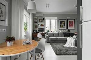 Kleine Wohnung Einrichten Ideen : kleine wohnung im skandinavischen wohnstil einrichten und dekorieren ~ Indierocktalk.com Haus und Dekorationen