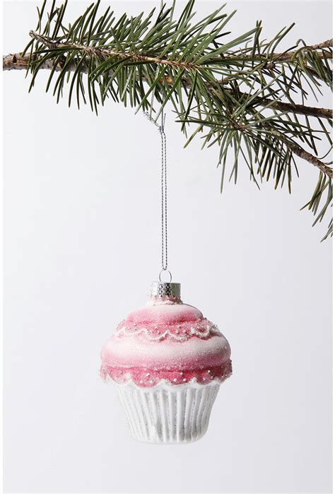 picture of cupcake christmas tree ornament