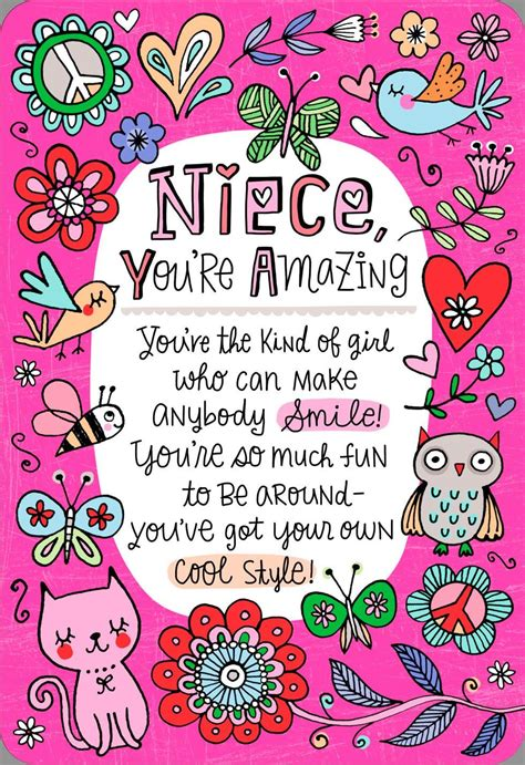 you 39 re the niece families about birthday card greeting cards hallmark