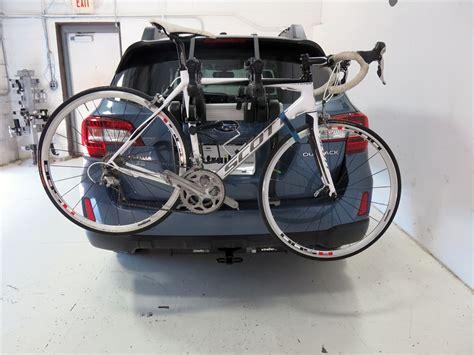 subaru bike rack 2014 subaru outback wagon trunk bike racks saris