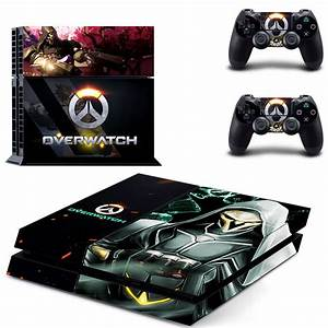 Overwatch design decal for PS4 console skin sticker decal