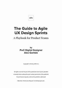 The Guide To Agile Ux Design Sprint Playbook