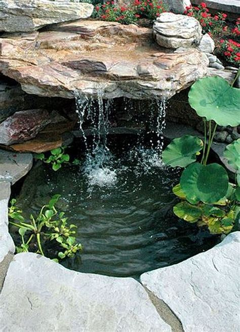 pond landscaping ideas  pinterest water pond plants pond ideas  pond water features