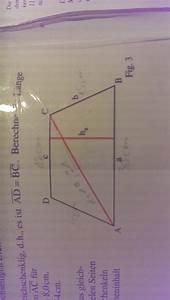 Lärmschutzwand Höhe Berechnen : h he berechnen gleichschenkliges trapez mathelounge ~ Themetempest.com Abrechnung