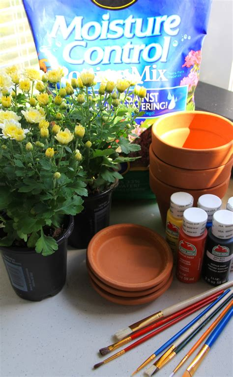 diy id 233 es comment personnaliser les pots de fleurs