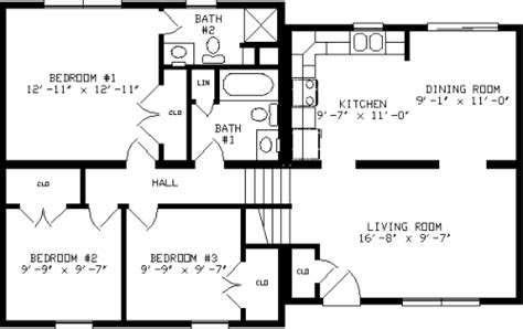 split level floor plans 1970 glenn by apex modular homes split level floorplan