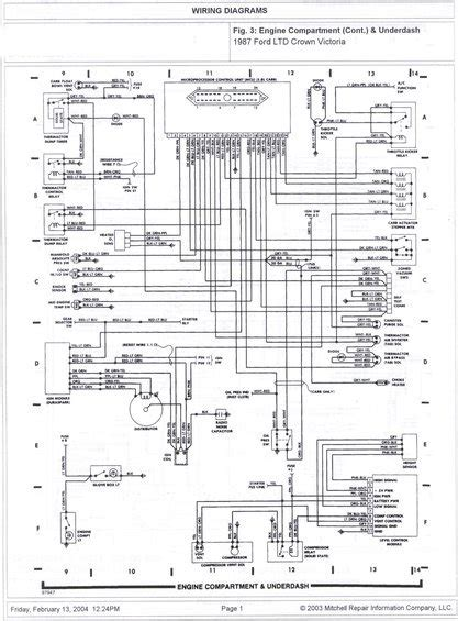 Ford Crown Victoria Ltd Wire Diagrams Pictures
