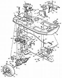Craftsman Model 502255070 Lawn  Riding Mower Rear Engine