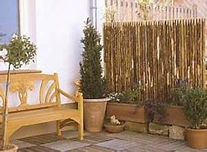 Sichtschutzelemente Aus Holz : sichtschutzelemente aus naturholzstangen sch lholz ~ Sanjose-hotels-ca.com Haus und Dekorationen