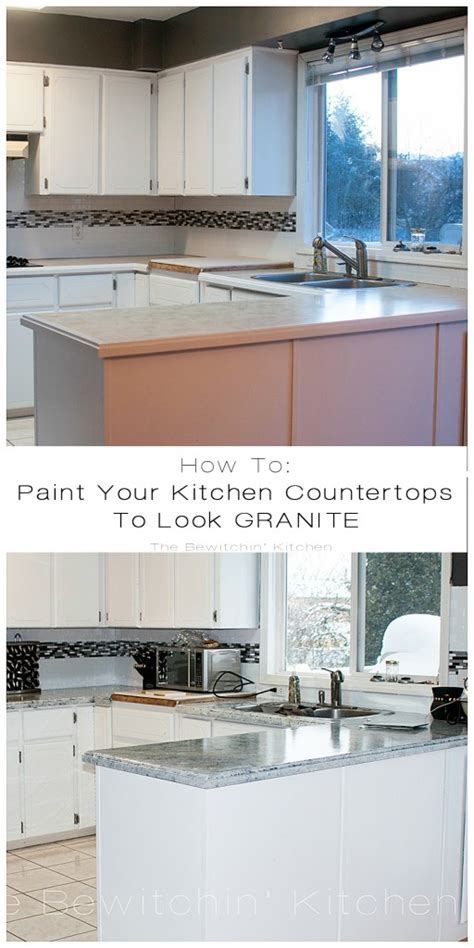 how to paint your countertops to look like granite painting kitchen countertops with giani granite the