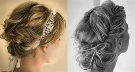 Prom Hair To The Side Curly With Braid Old Hollywood Glamour Hair Wedding Short Haircuts For Long Thick Cool Color Highlights Dark Afro Caribbean Hairstyles Weddings Baby Bridesmaids With Mid Length How To Do A Sock Bun Curls