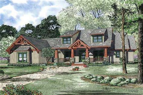 craftsman style house plan  bedrooms plan