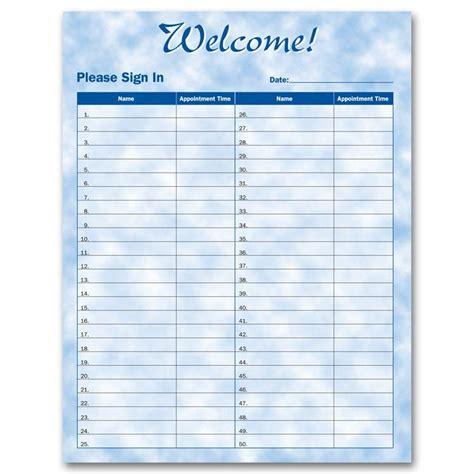 patient sign  sheets designsnprint