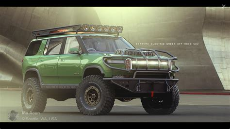 Rivian Community Imagines R1s Suv In Extreme, Off-road All