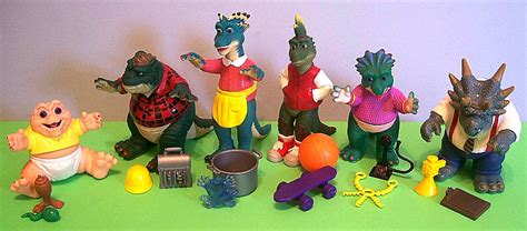 dinosaurs action figures muppet wiki