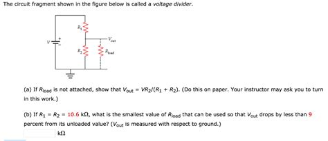 Solved The Circuit Fragment Shown Figure Below
