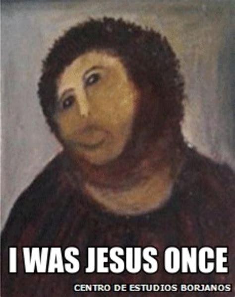 Jesus Fresco Meme - jesus painting restoration meme 28 images botched ecce homo painting know your meme