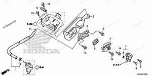 Honda Scooter 2013 Oem Parts Diagram For Ventilation Valve