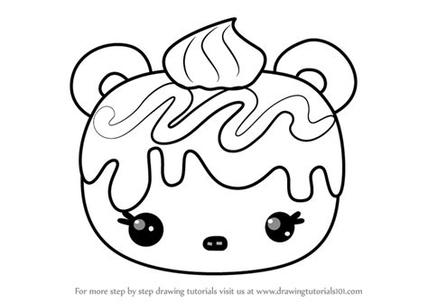 Learn How To Draw Wanda Wildberry From Num Noms (num Noms