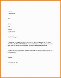 8 maternity leave letter new hope stream wood With letter of maternity to employer template