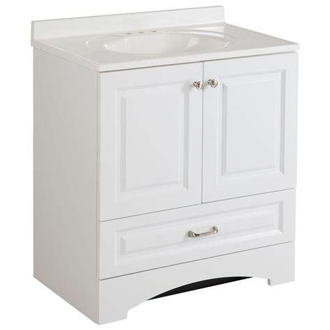 bathroom vanity cabinet   single sink white