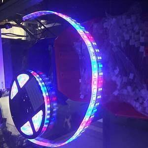 Red White  U0026 Blue Led Strip Light 24v 5054 Smd Kit