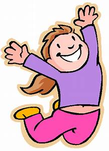 Excited Girl Clipart (23+)