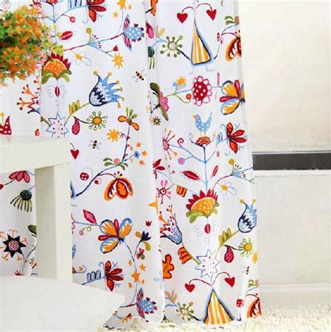 Blumen Gardinen Ikea by 1 X Gardine Mit Schlaufen 140 X 220 Cm Ikea Alfhild Fagel