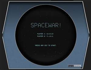 Play Spacewar On The DEC PDP 1 Emulated In Your Browser