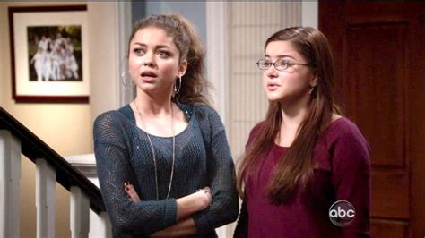modern family season 4 ariel winter and hyland photos photos modern